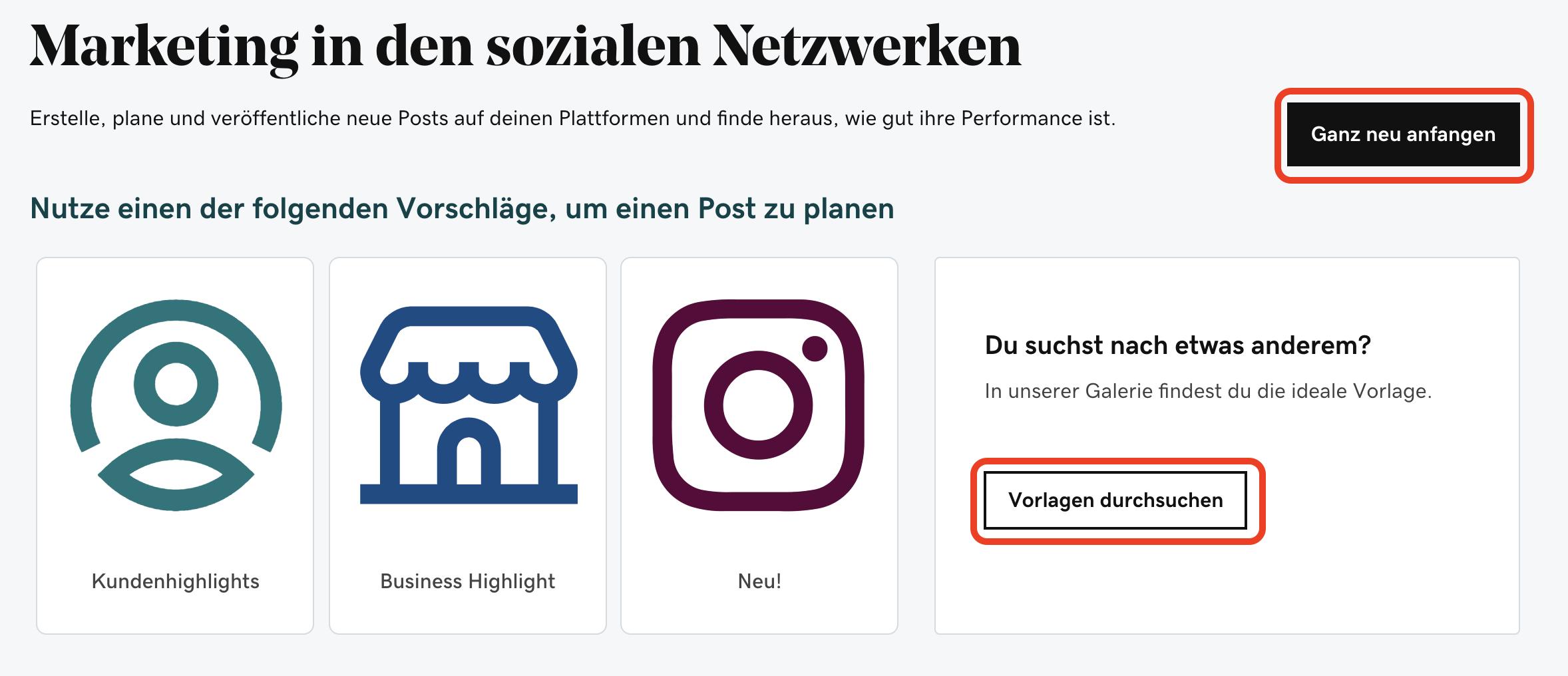 Websites Marketing_Beiträge direkt auf Instagram planen & veröffentlichen_Beitrag erstellen