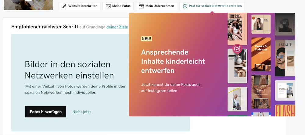 Websites Marketing_Beiträge direkt auf Instagram planen & veröffentlichen_Instagram Feature