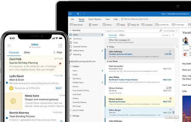 Wie du mit Microsoft Office 365 effizienter Arbeiten kannst_Outlook