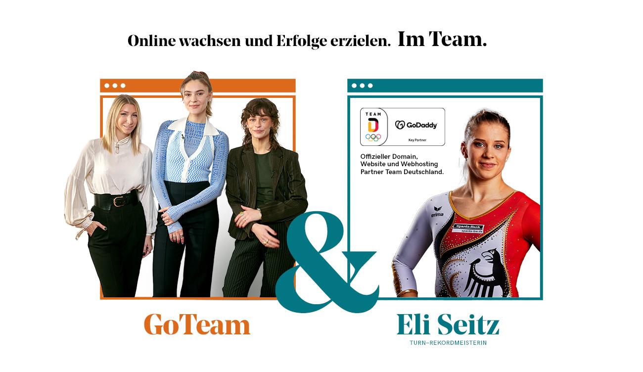 Willkommen im GoTeam- Stefanie Giesinger & Co. unterstützen Elisabeth Seitz' Initiative für Female Empowerment