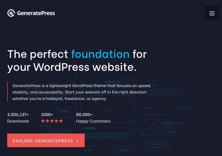 WordPress-Theme-GeneratePress