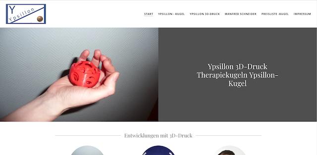 Ypsillon Mit GoDaddy verwirklicht der 3D Druck Pionier sich selbst