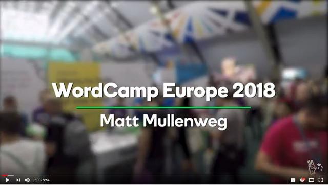 Zum Videointerview mit Matt Mullenweg - mit einem Klick auf das Bild starten Sie das Video