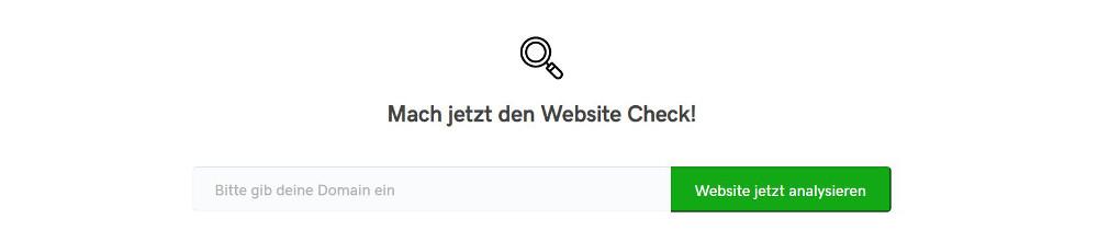 Abbildung - SEO-Schnell-Check der GoDaddy rankingCoach Edition