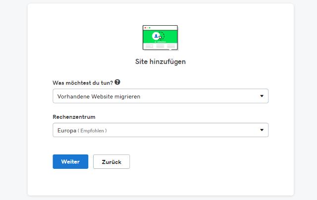 Abbildung - Automatische WordPress Migration - WordPressseite umziehen