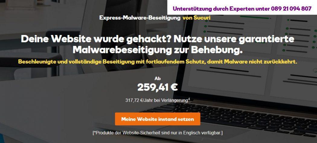 Express Malware Beseitigung