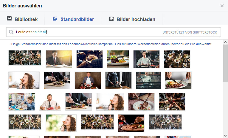 Restaurant Marketing Facebook Bilder