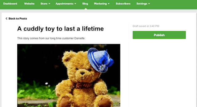 godaddy-Website-Baukasten Feature-baer